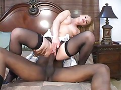 Hot Co-Ed Gets Huge Dick In Her Ass
