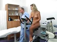 Gyno check the orgasm
