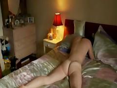 Hot female's multiple orgasms after tender masturbation