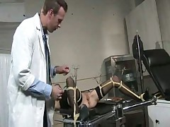 Blonde fucks gynecologist