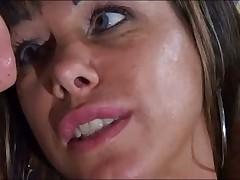 Sonia Eyes and Figlio Mio in hot Italian porno