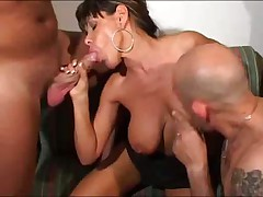 Sonia Eyes and Figlio Mio in hot Italian porno