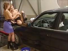 Tyra Misoux threesome
