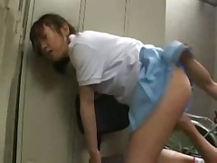 Japanese Teen Played at the Locker Room
