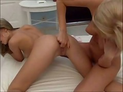 Blue Angel and Donna Bell Enjoying The Pussy