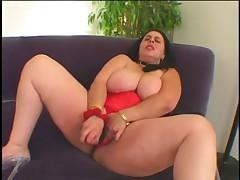 Fat Slut Gets Black Cock Deep In Her Asshole