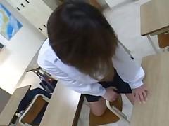 Japanese girls masturbation