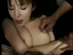 Japanese girl interracial gangbang