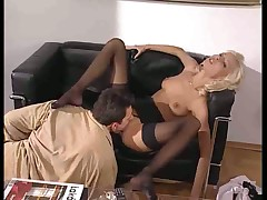 Nikky Blonds Asshole and Pussy Fucked