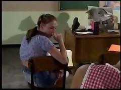 Ann Harlow in class