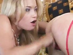 Gorgeous babes finger fuck each other