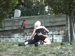 Outdoor sex voyeur
