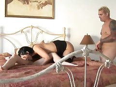 Encyclopedia Saleslady Fucked By Couple