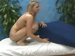Sexy massage for young pornstar