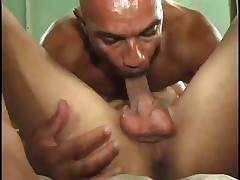 Blonde Milf Taking on Ebony Penis