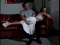 Dominatrix Punishes Her Slaves Juggs