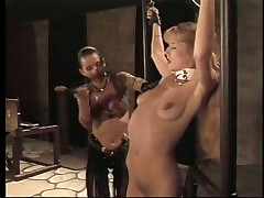 Bad Whore Gets Spanked By Her Mistress