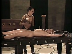 Mistress Jean Enjoys Hot Latex Fetish