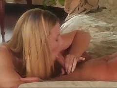 Erotic Blonde Gives Hot Blowjob
