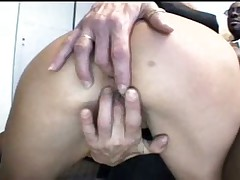 Mature blonde blowjob