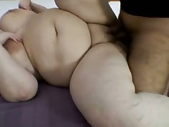 Bbw curvy and huge saggy tits