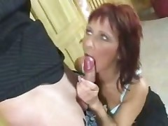 Horny Milf Gets Fucked and a Facial