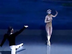 Naked asian ballet