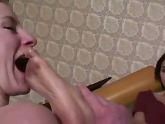 Spanish mistress dirty feet