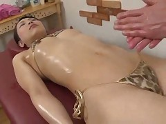 Japanese Massage play