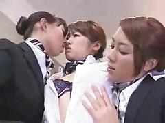 Lesbian flight attendants