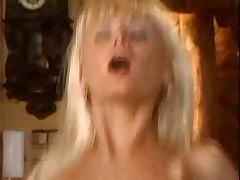 Hot blonde girl fucks with her boyfriend