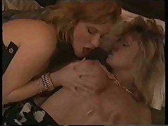 Tracey Adams in a French 3some