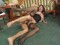 Superb Hairy Mature Fuck and Squirt