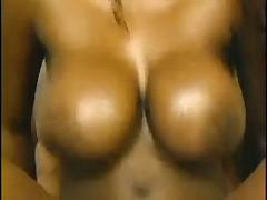Horny Big Black Tits Bahroom Wash