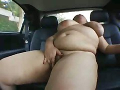 Karla Lane paid to fuck in the backseat