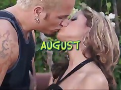 Turned-on Couple Pounding on Hill