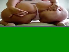 Huge ass show on webcam