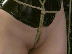 Babes in latex are plating with topes