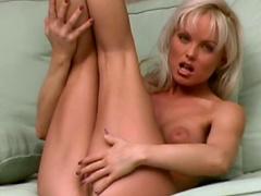 Blonde with big tits is pornstar Silvia Saint