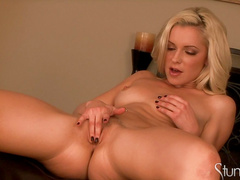 Blonde Lena Nicole and her lovely dildo