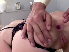 Close-up scene with anal sex for Wiska