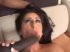 Luscious Lopez black cock anal pounding