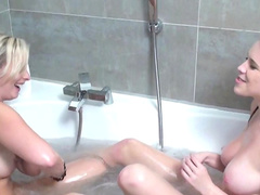 Ally and Kirsten Plant are banging naked