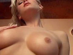Pretty blonde Zdenka Podkapova is demonstrating her stunning body