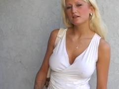 Cutie Staci Thorn gives a lusty handjob