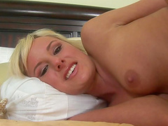 Hot fucking of anal blonde with tiny tits