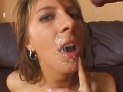 Janet Alfano fucks with Lee Stone in her mouth