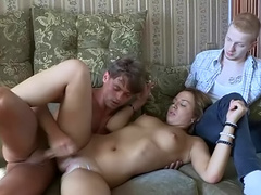 Vera craves to be impaled in front her ex-boyfriend