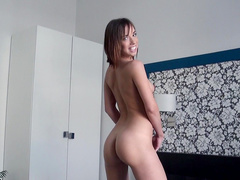 Tall babe Tina Hot is fucking in anal hole