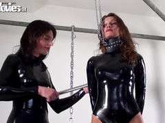 Fiona F is sucking Sarah Dark's clit